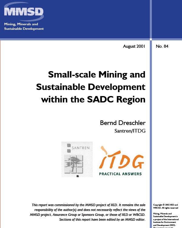 Small Scale Mining and Development within the SADC Region