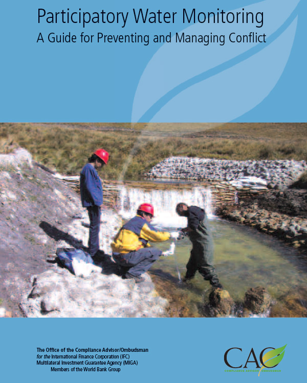 Participatory Water Monitoring: A Guide for Preventing and Managing Conflict – Advisory Note