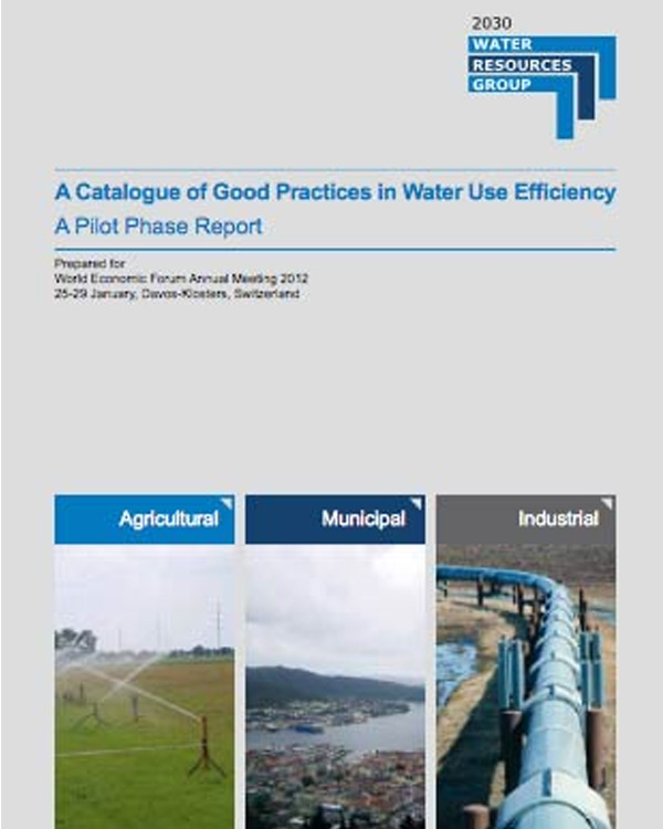 A Catalogue of Good Practices in Water Use Efficiency