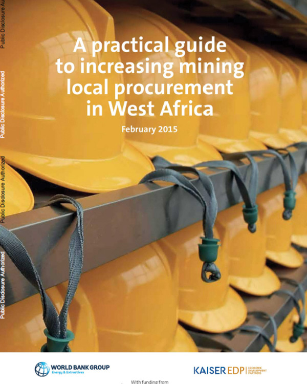 A Practical Guide to Increasing Mining Local Procurement in West Africa
