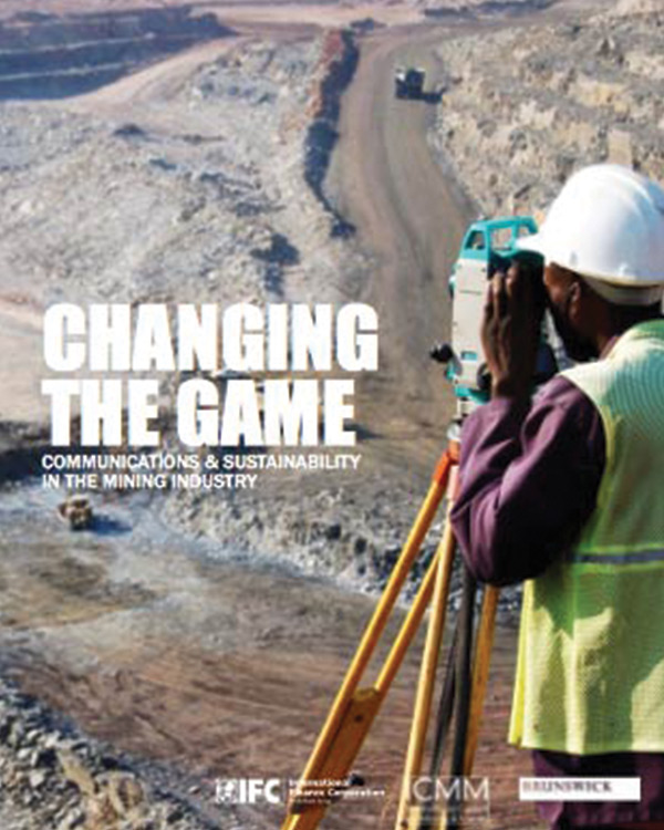 Changing the Game: Communications and Sustainability in the Mining Industry