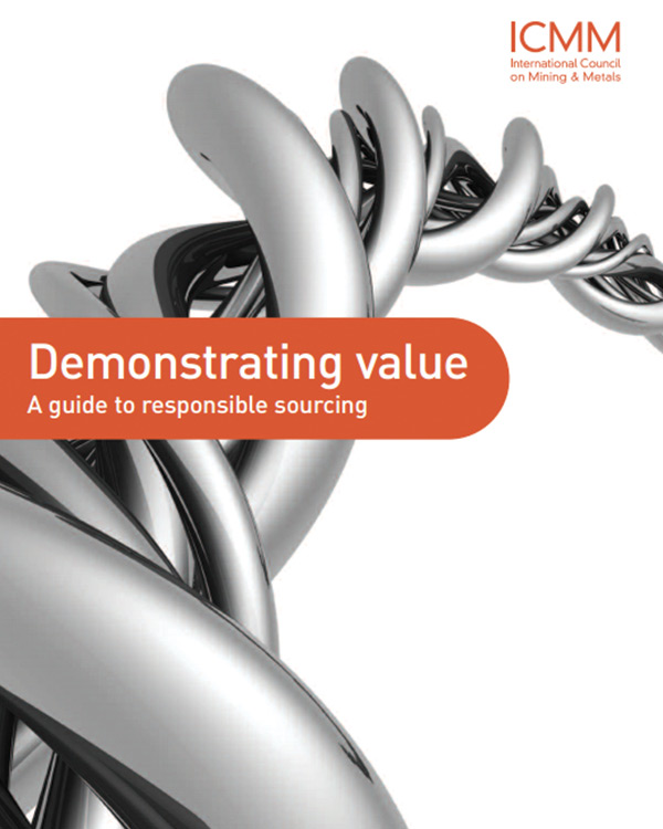 Demonstrating Value – A Guide to Responsible Sourcing