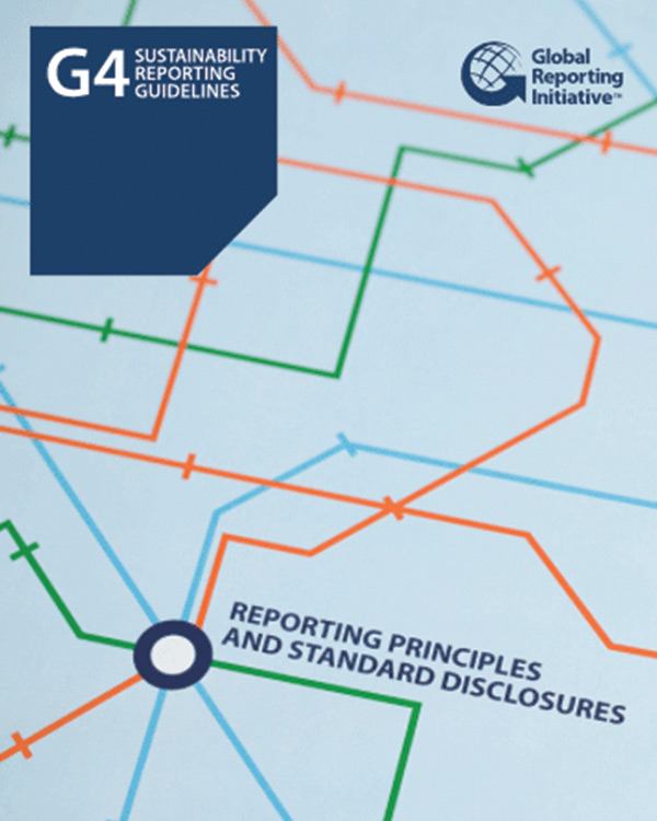 Global Reporting Initiative G4 Sustainability Reporting Guidelines: Reporting Principles and Standard Disclosures