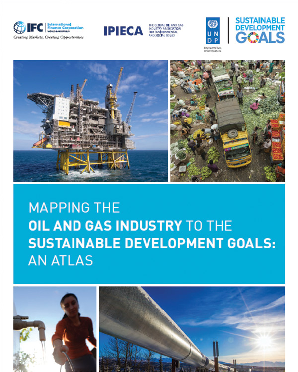 Mapping the Oil and Gas Industry to the Sustainable Development Goals: An Atlas