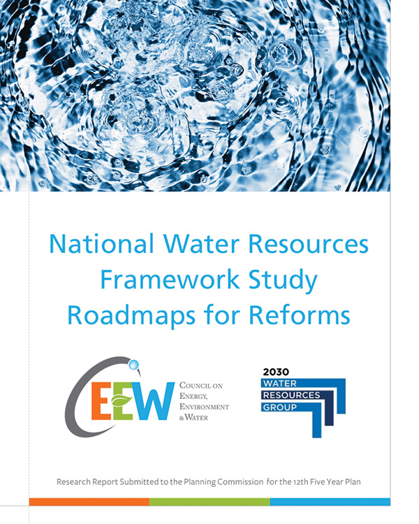 National Water Resources Framework Study Roadmaps for Reforms, India