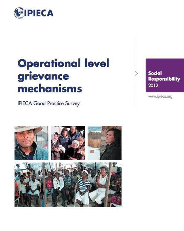 Operational level grievance mechanisms
