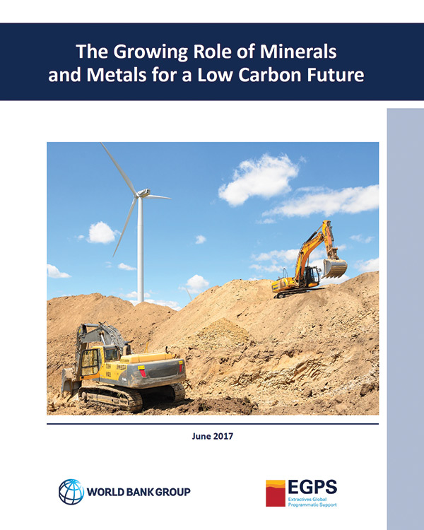 The Growing Role of Minerals and Metals for a Low Carbon Future