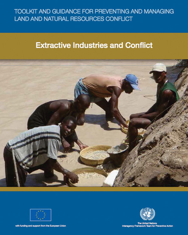 Toolkit and Guidance for Preventing and Managing Land and Natural Resources Conflict