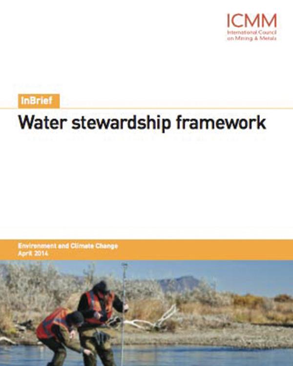 Water Stewardship Framework