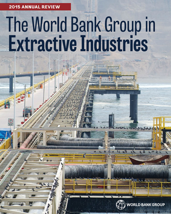 WBG Extractive Industries – 2015 Annual Review