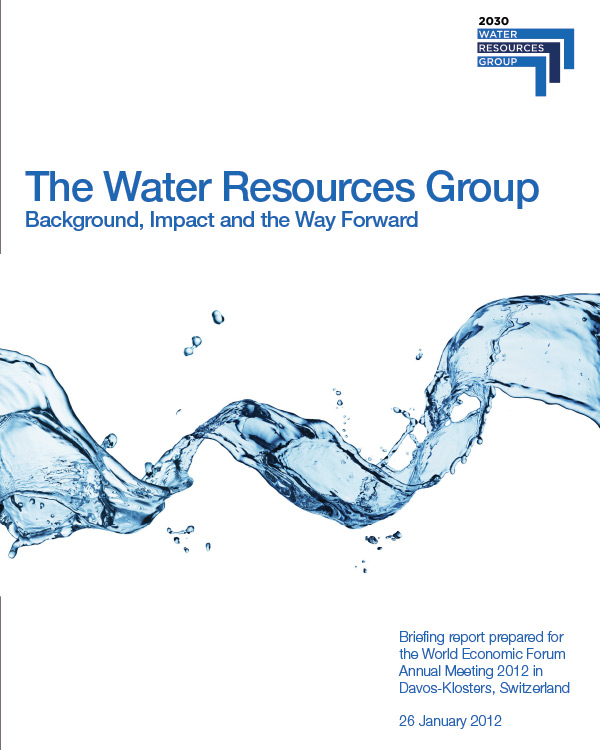 World Economic Forum: Water Resources Group