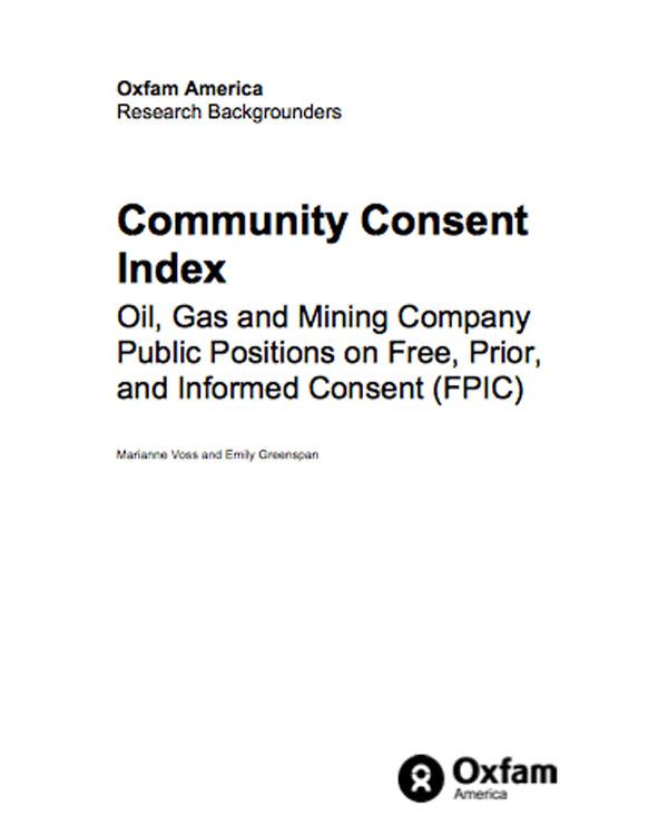 Community Consent Index