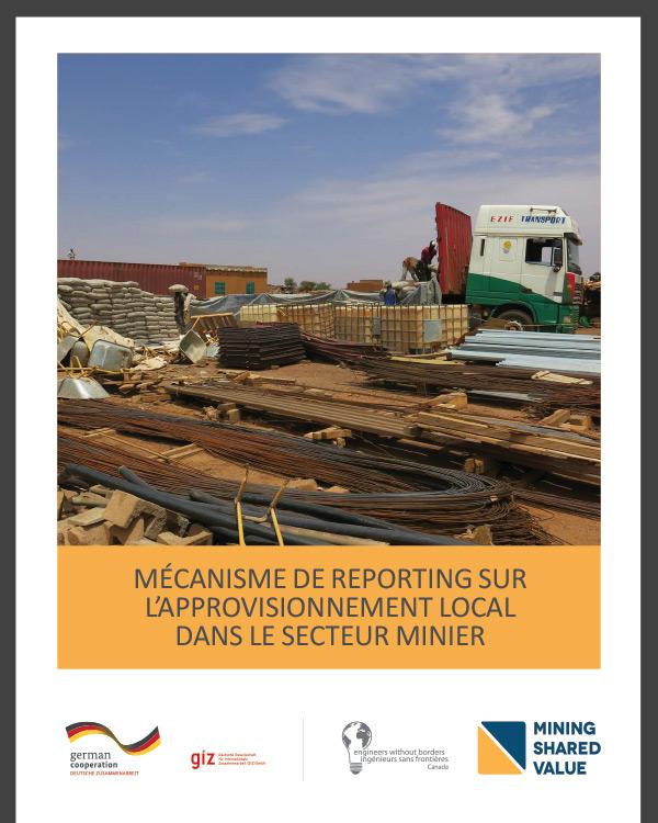 [French Version] Mécanisme de reporting sur l'approvisionnement local dans le secteur minier
