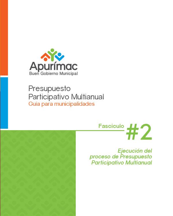 2.2 – Presupuesto Participativo Multi-anual (PP) – Fascículo 2