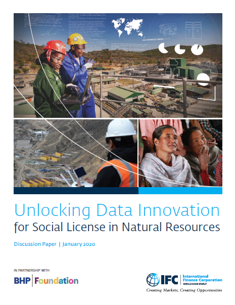 Unlocking Data Innovation for Social License in Natural Resources