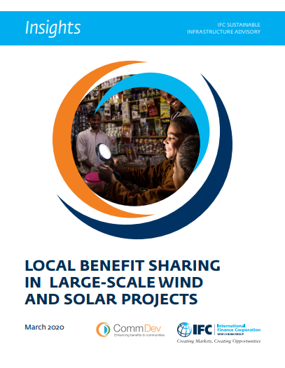 Highlights: Local Benefit Sharing in Large-scale Wind and Solar Projects