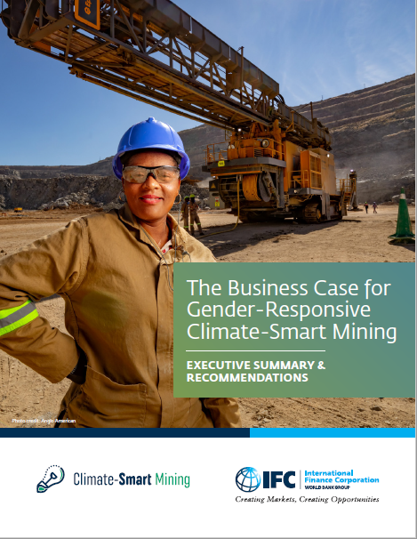 Executive Summary: The Business Case for Gender-Responsive Climate-Smart Mining