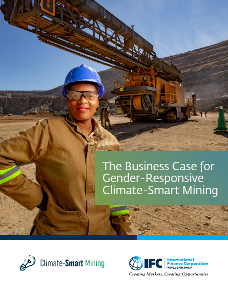 The Business Case for Gender-Responsive Climate-Smart Mining