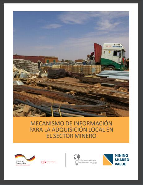 [Spanish Version] Mecanismo de Información para la Adquisición Local en el Sector Minero
